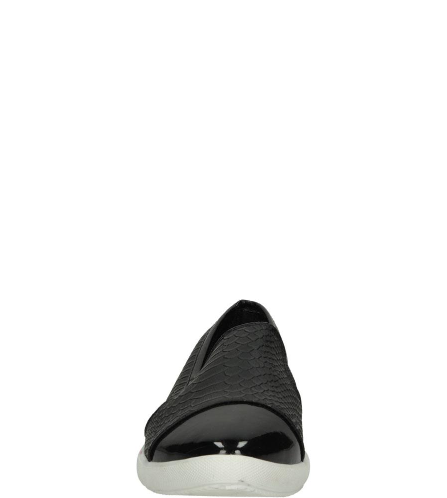 Damskie SLIP ON CASU X-22 czarny;;