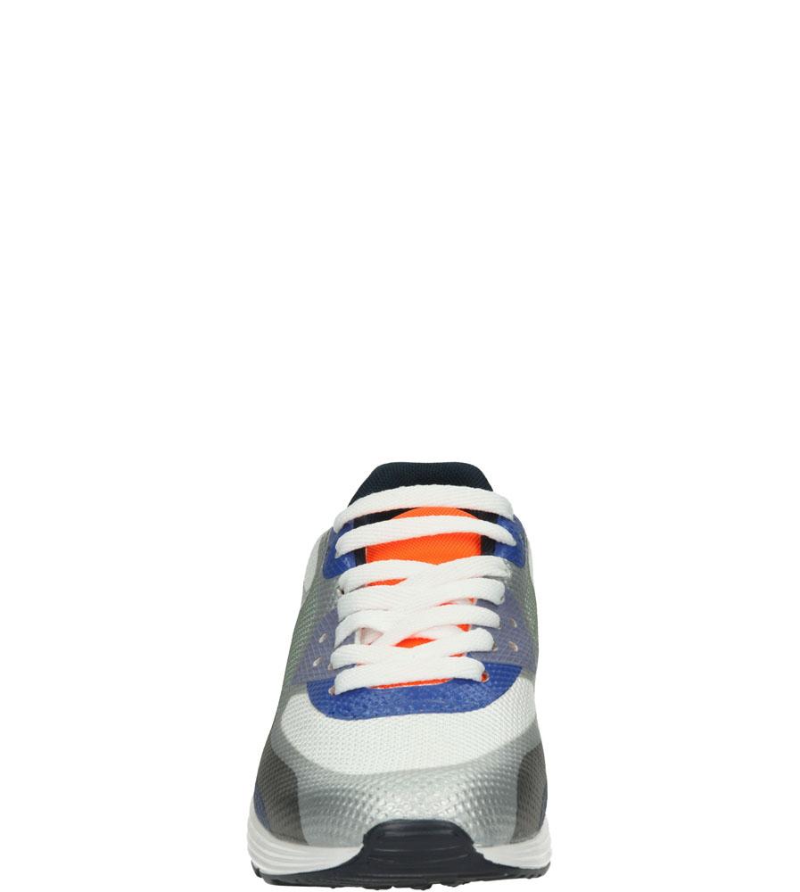 Damskie SPORTOWE CASU 992-5 niebieski;biały;srebrny