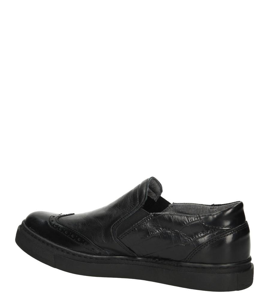 Damskie SLIP ON VERANO 3071 czarny;;