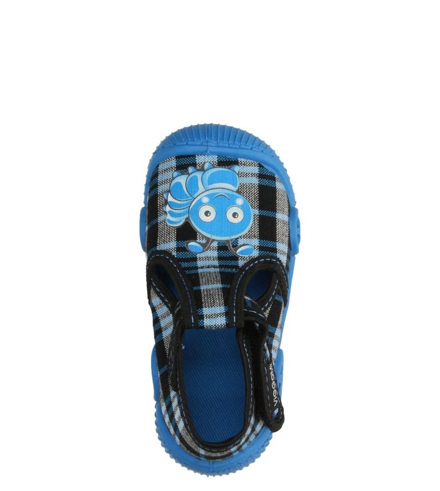 Dziecięce KAPCIE VI-GGA-MI JĘDRUŚ niebieski;;