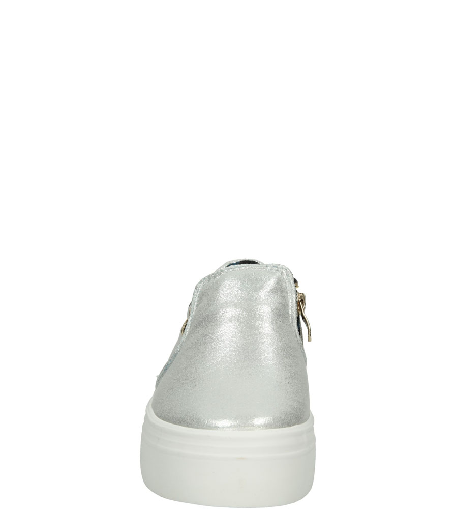 Damskie CREEPERSY CASU K1560302 srebrny;;