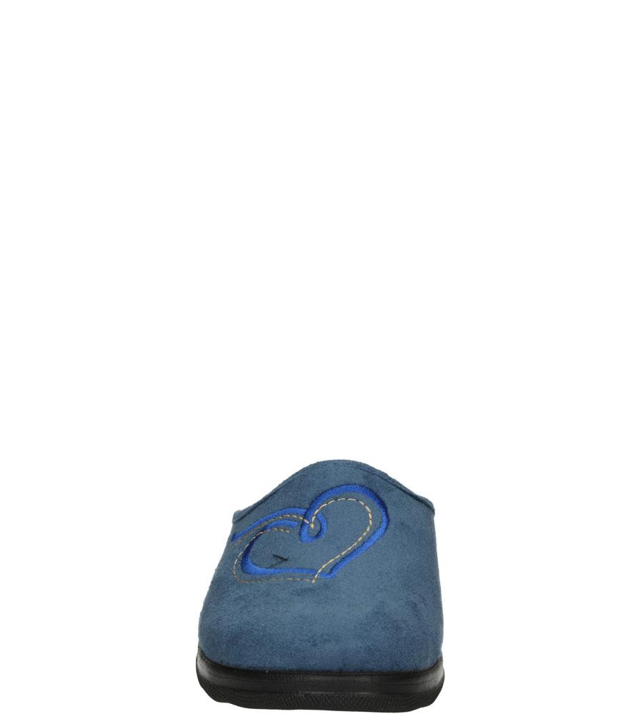 Damskie KAPCIE INBLU CA000086 szary;niebieski;