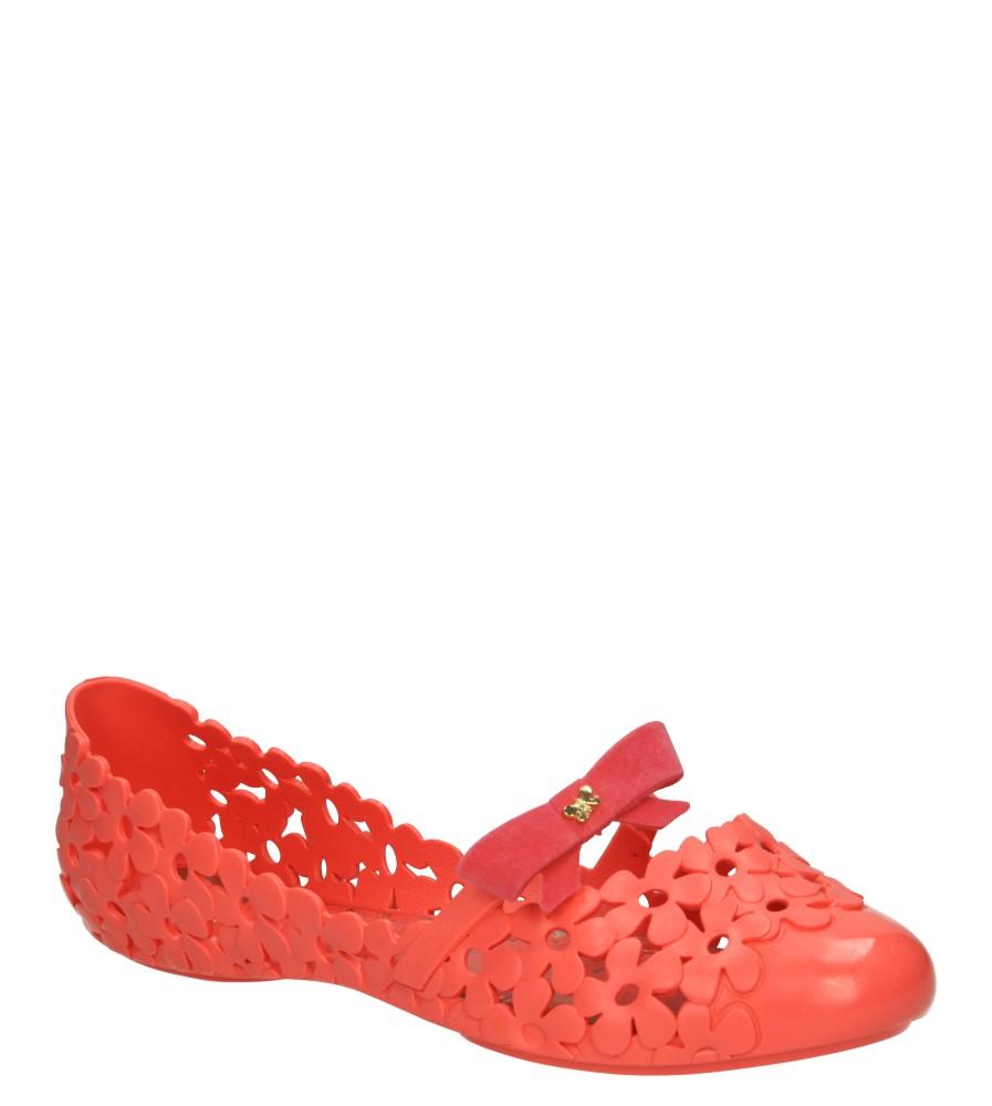 Damskie MELISKI ZAXY 81609 GARDEN FEM czerwony;;