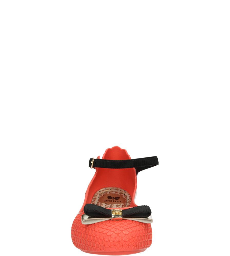 Damskie MELISKI ZAXY 81605 FANTASY FEM czerwony;;