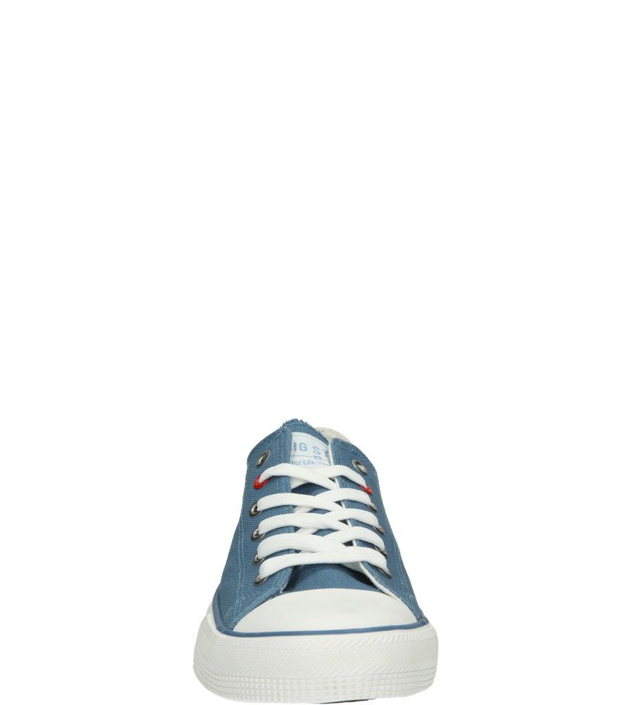 Męskie TRAMPKI BIG STAR T174108 niebieski;;
