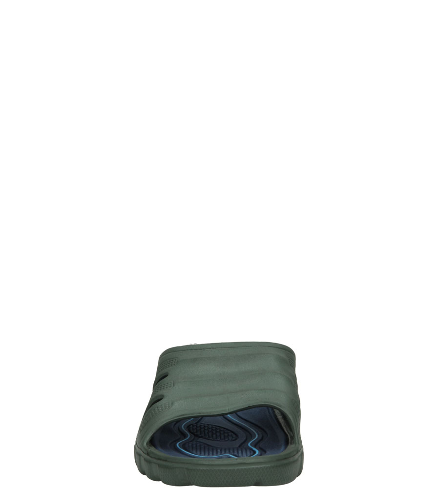 Męskie KLAPKI CASU 508-1 zielony;;