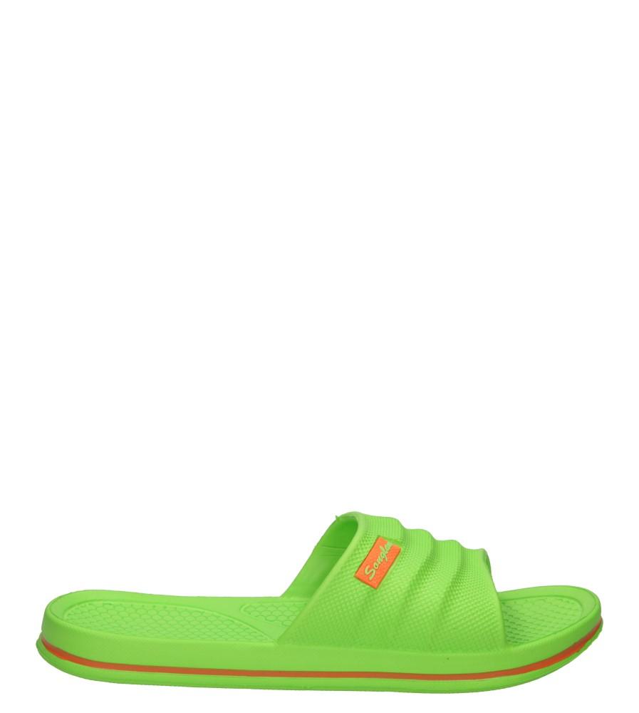 Damskie KLAPKI CASU SH15L002 zielony;;