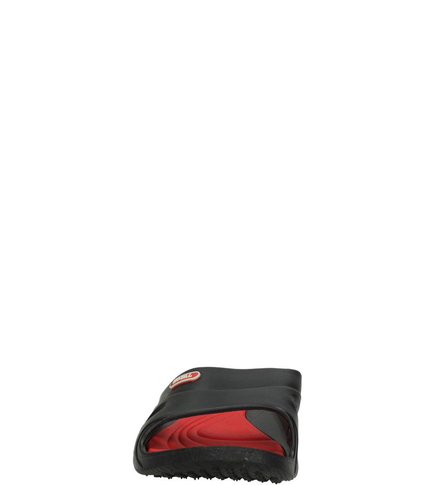 Damskie KLAPKI CASU F-3060 czarny;czerwony;