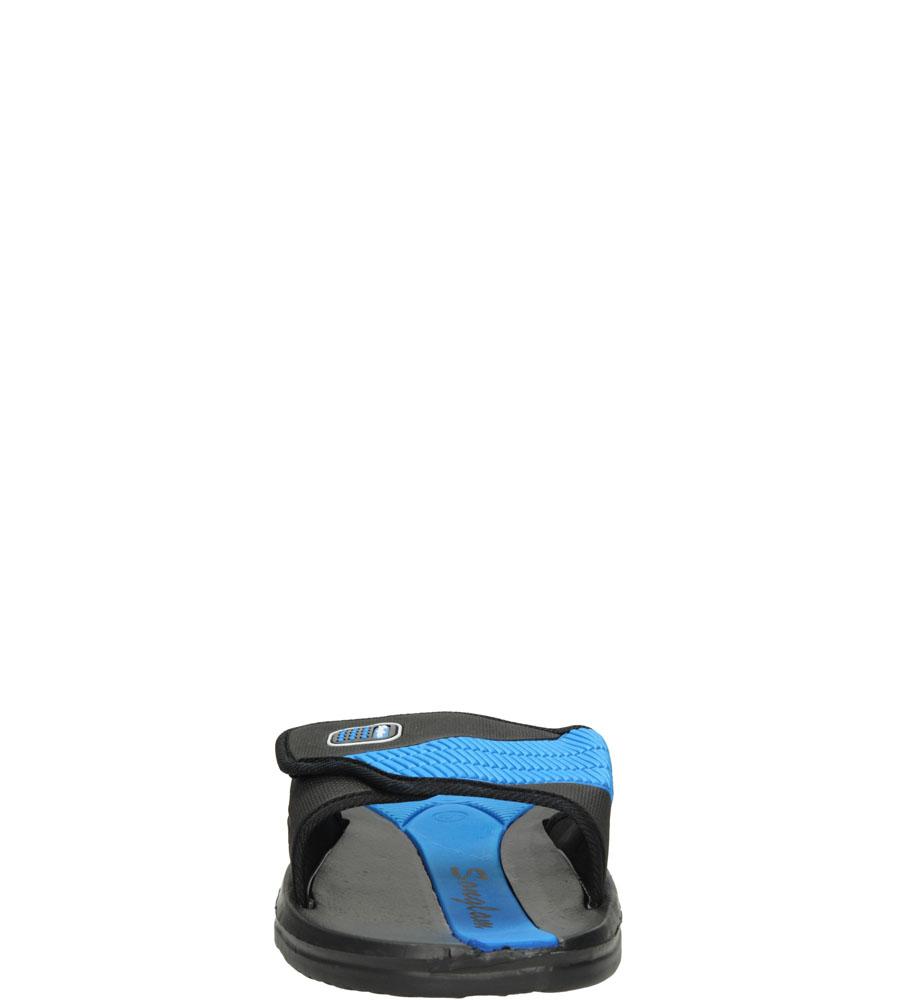 Męskie KLAPKI CASU 881-19 czarny;niebieski;