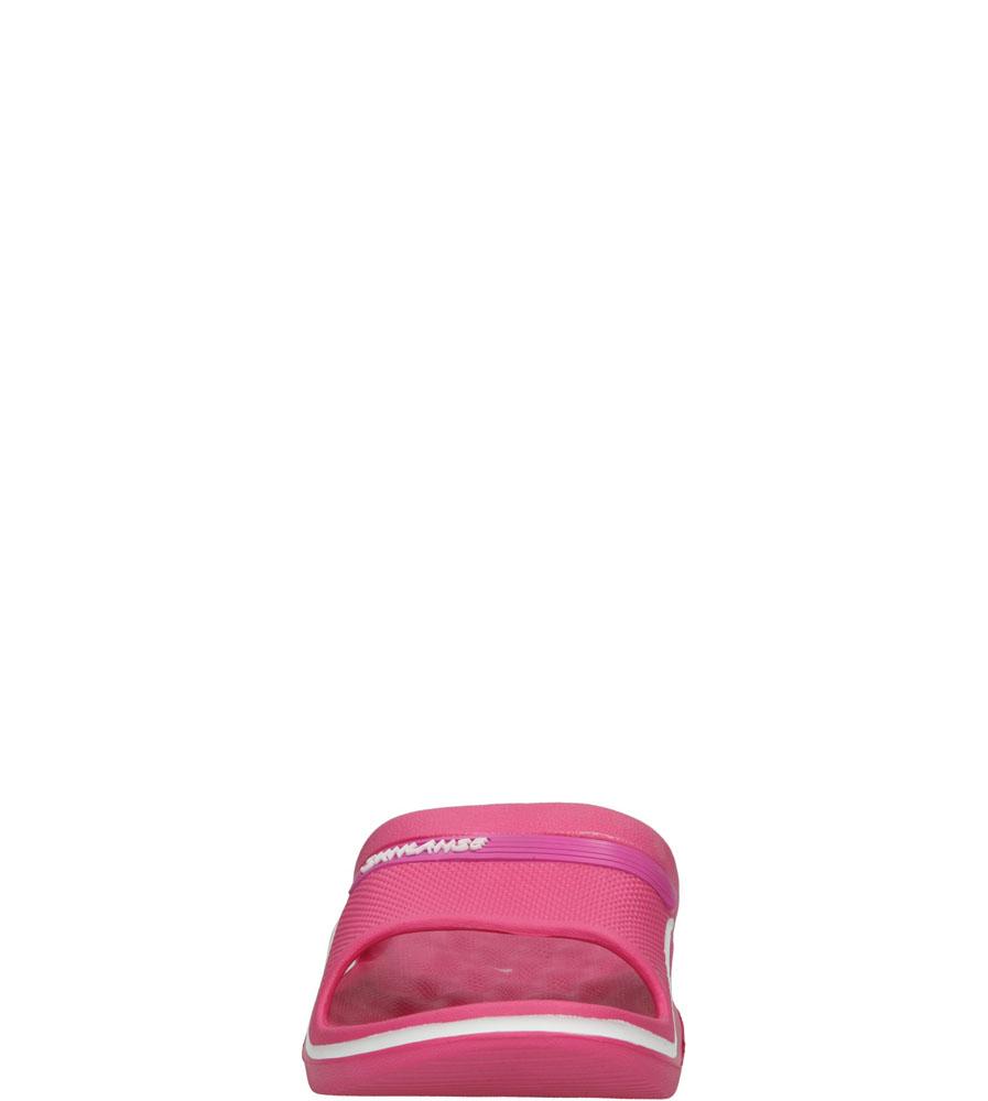 Damskie KLAPKI CASU H609 różowy;biały;