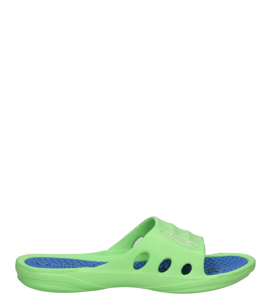 Damskie KLAPKI CASU DN351-3 zielony;niebieski;