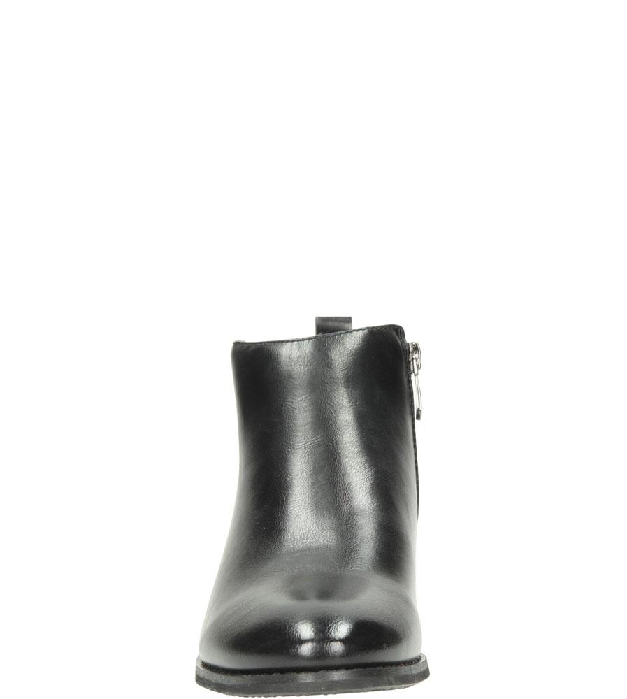 Damskie BOTKI VINCEZA STI16-8311DATBT czarny;brązowy;