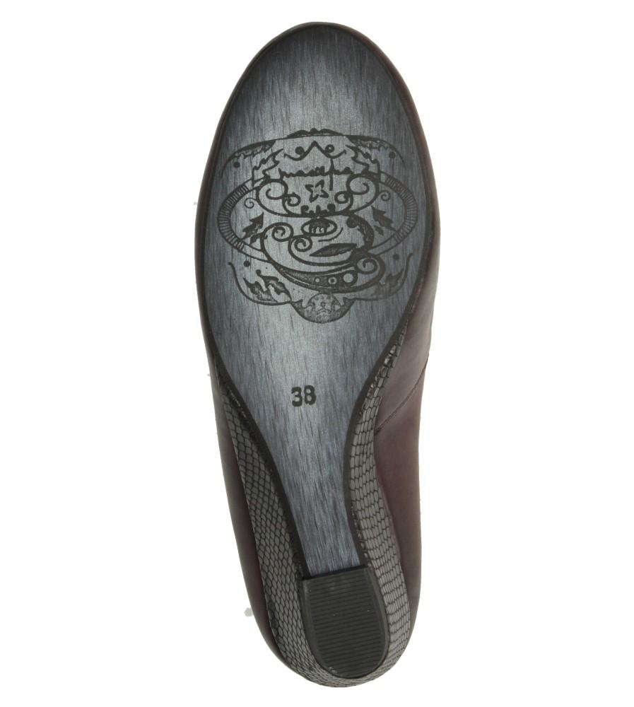CZÓŁENKA MACIEJKA 0869A wys_calkowita_buta 12 cm