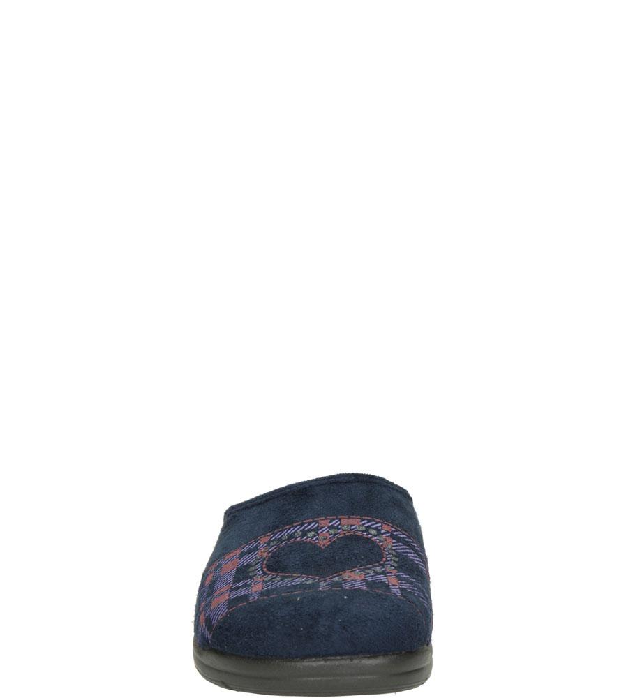Damskie KAPCIE INBLU AT000016 niebieski;;