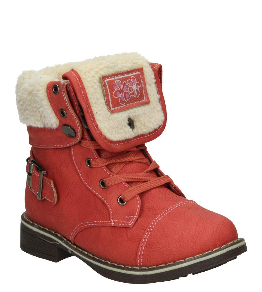 Dziecięce TRZEWIKI 3W-QL84487 czerwony;;