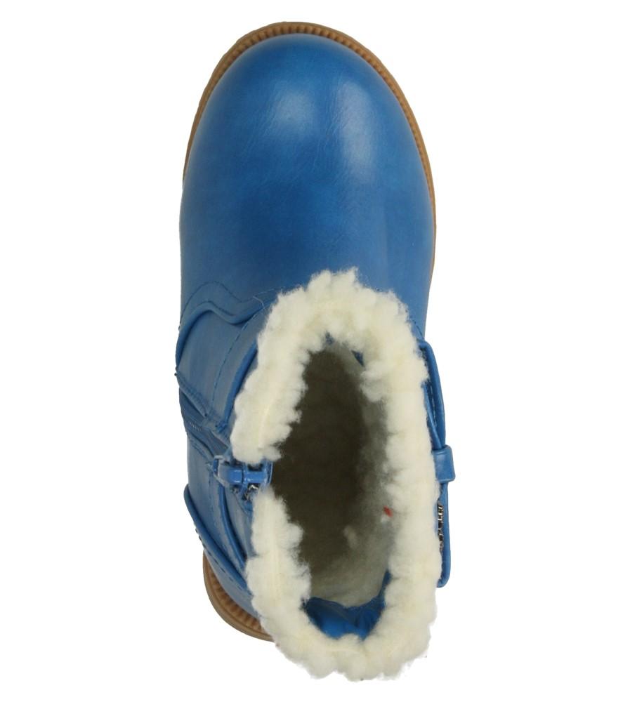 Dziecięce BOTKI AMERICAN B5514-C101 niebieski;;