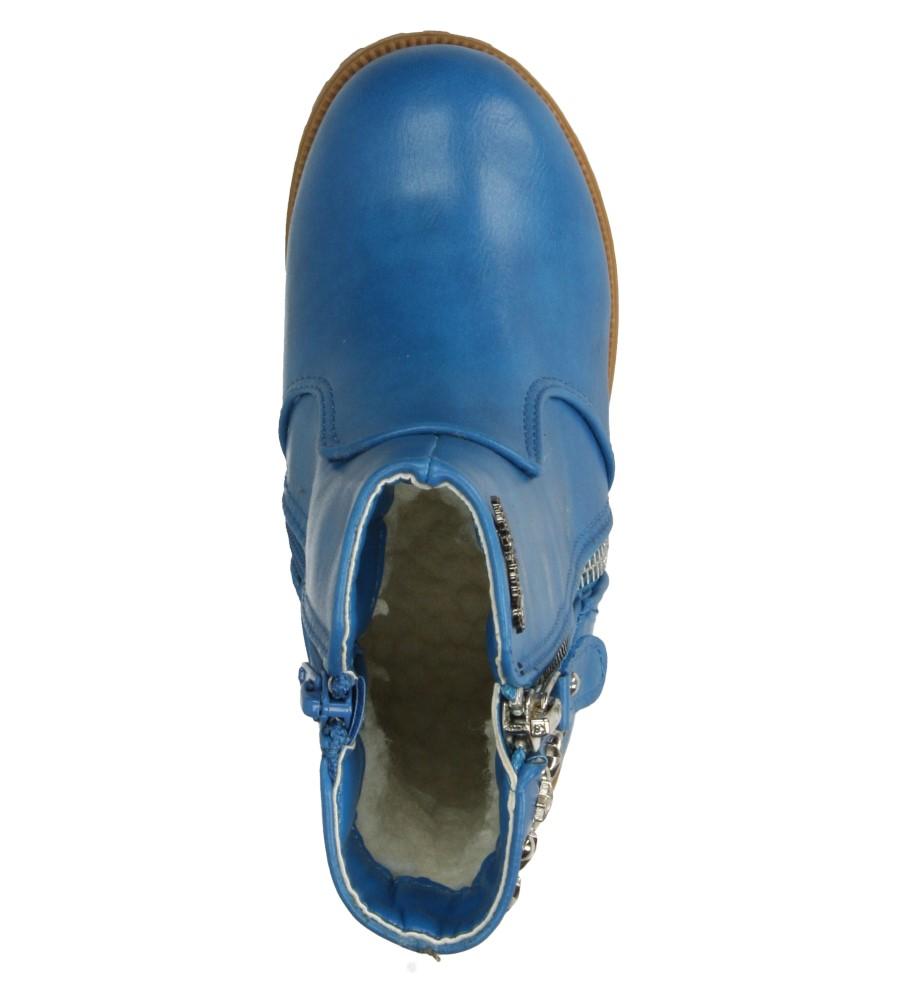 Dziecięce BOTKI AMERICAN BF4001-C102 niebieski;;