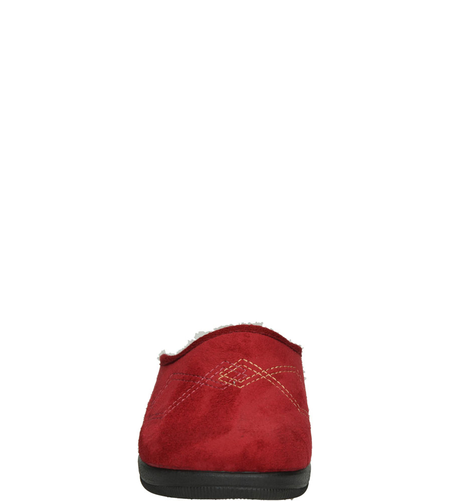 Damskie KAPCIE INBLU CL000062 bordowy;;