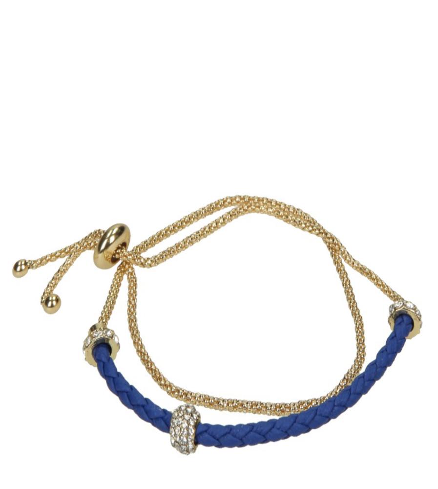 Damskie BRANSOLETA 0300425JY009 złoty;niebieski;