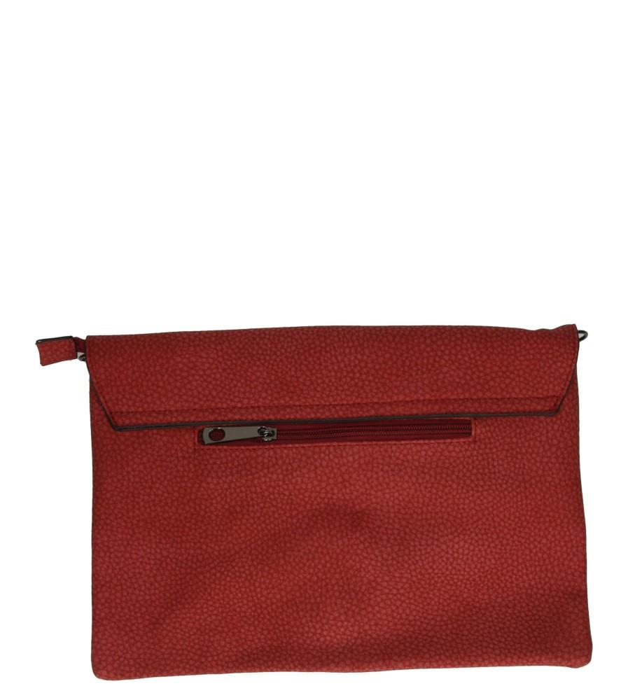 Damskie TOREBKA WIZYTOWA P163-87 czerwony;;