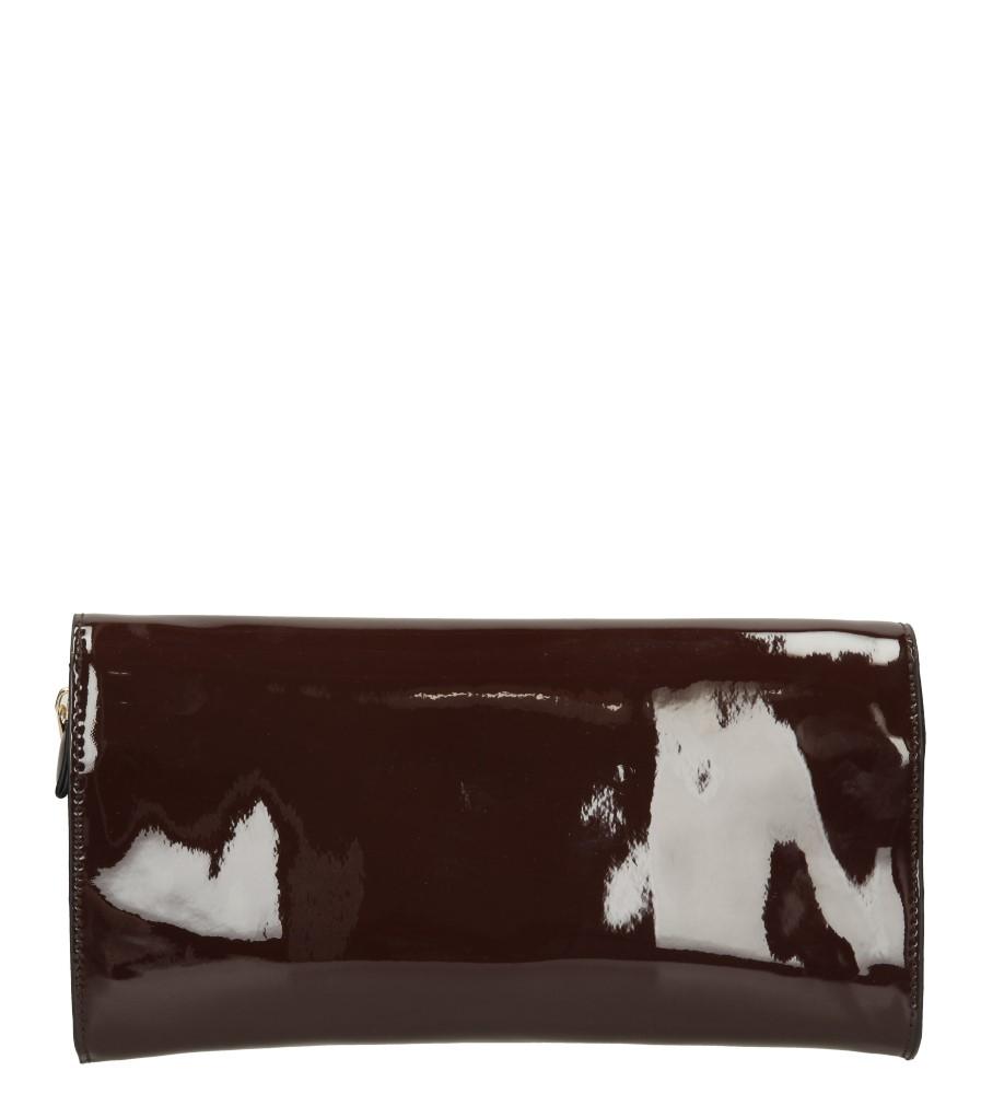Damskie TOREBKA WIZYTOWA H202 brązowy;;