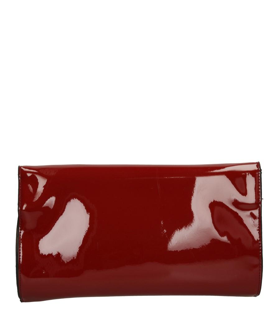 Damskie TOREBKA WIZYTOWA H200 czerwony;;