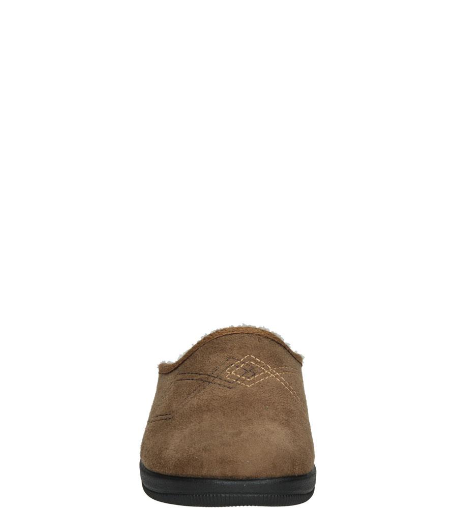 Damskie KAPCIE INBLU CL000062 brązowy;;