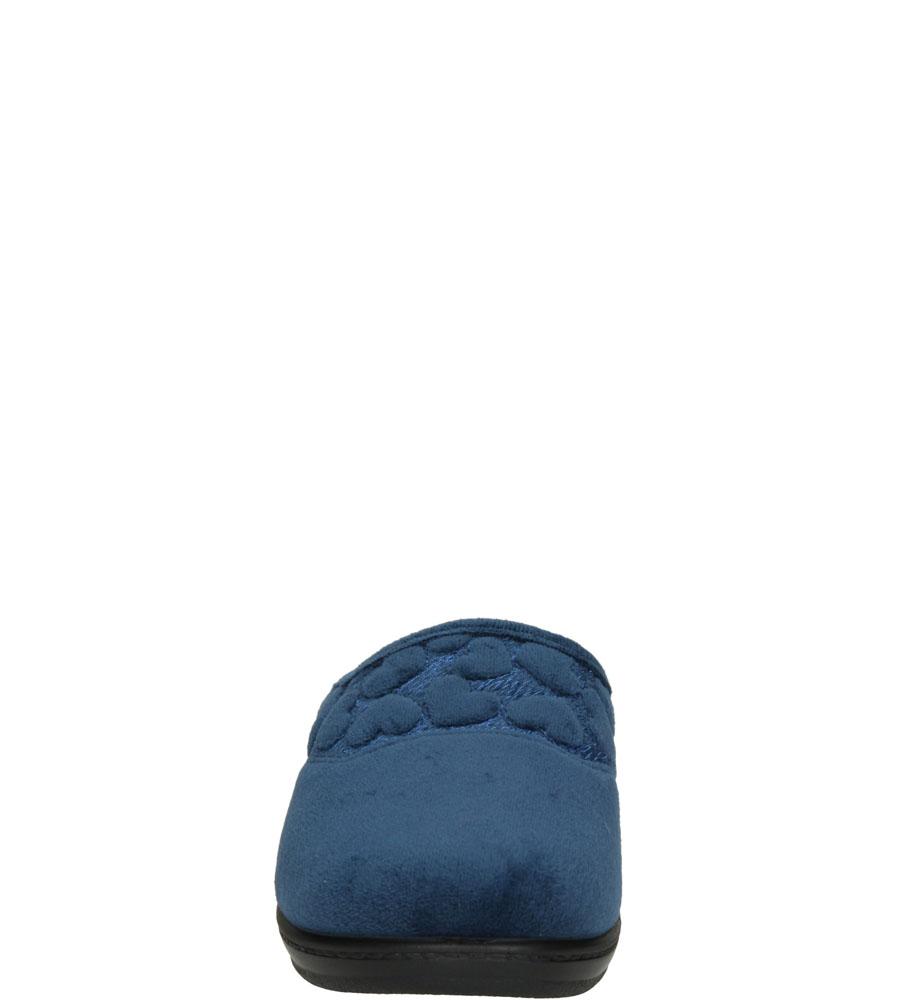 Damskie KAPCIE INBLU LY000020 niebieski;;