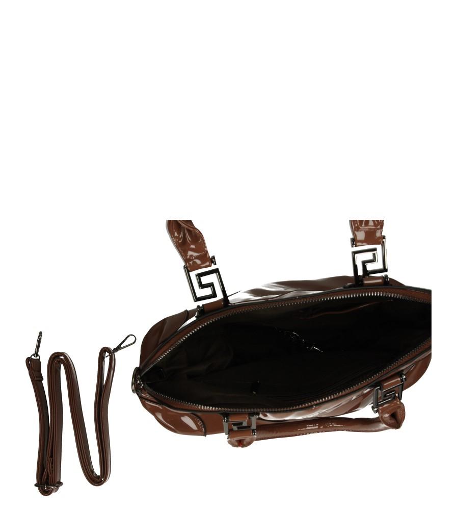 Damskie TOREBKA 168 brązowy;;