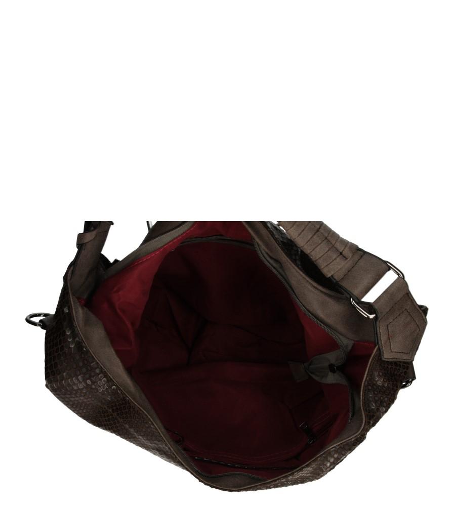 Damskie TOREBKA R14 brązowy;;
