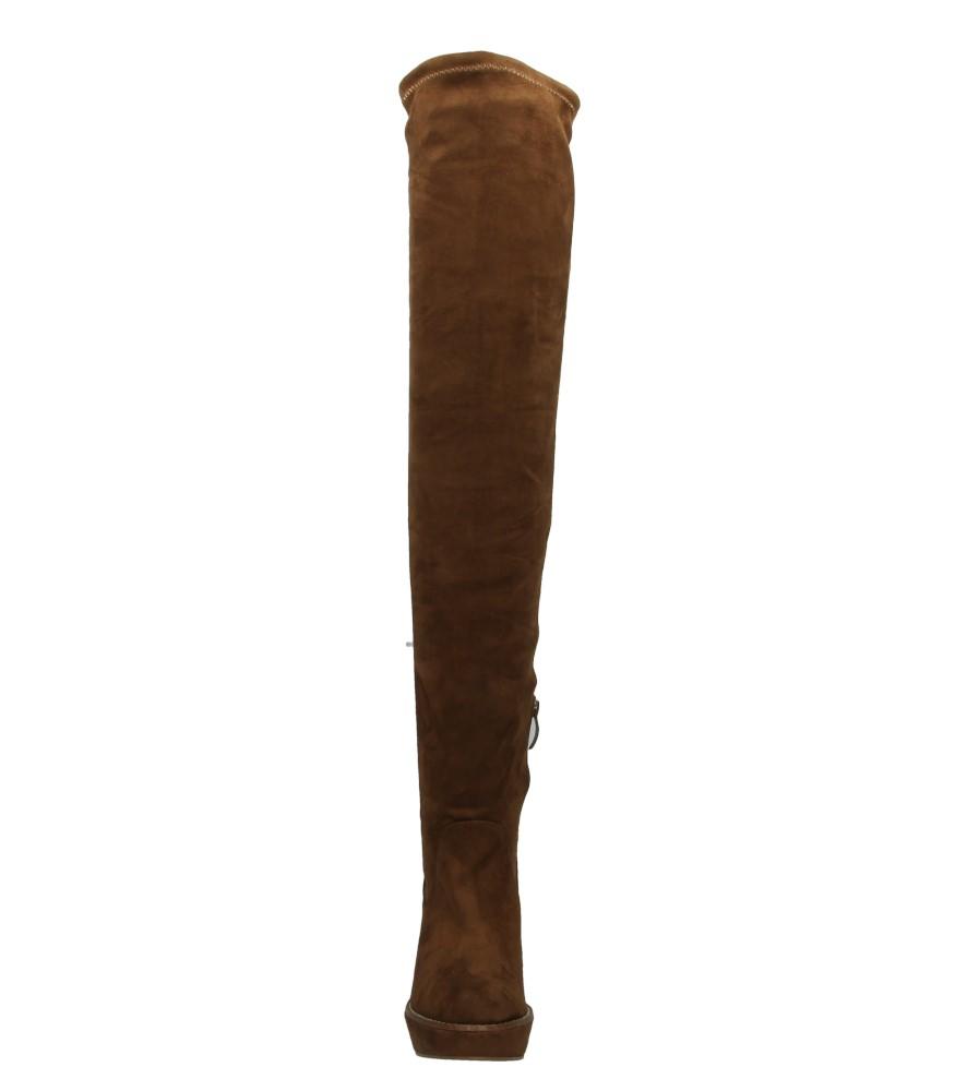 Damskie KOZAKI TAMARIS 1-25908-35 brązowy;;
