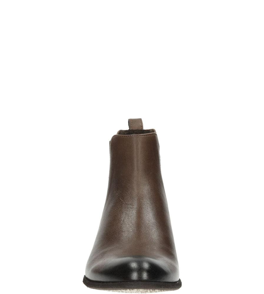 Damskie SZTYBLETY NESSI 59204 brązowy;;