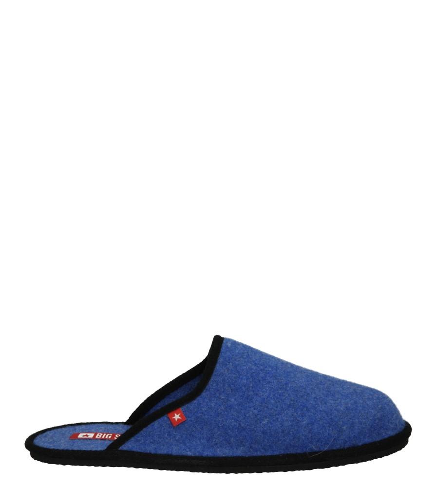 Męskie KAPCIE BIG STAR S-04 niebieski;;