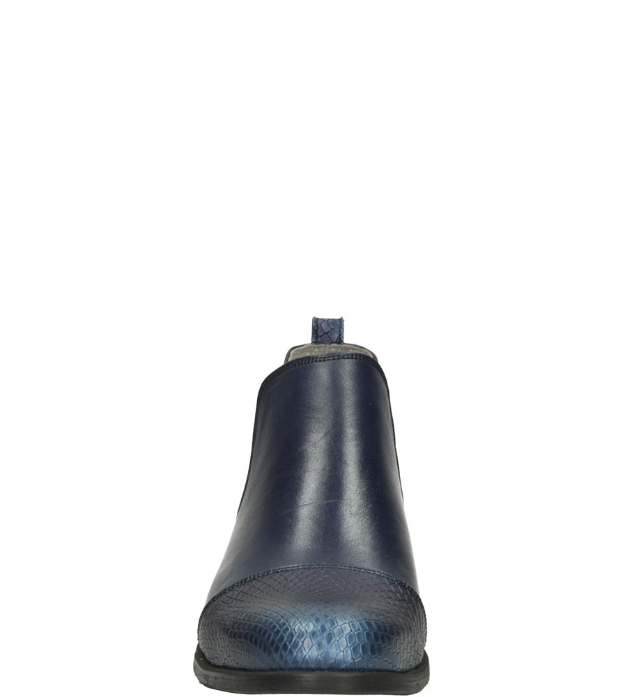 Damskie SZTYBLETY LEMAR 281 niebieski;;