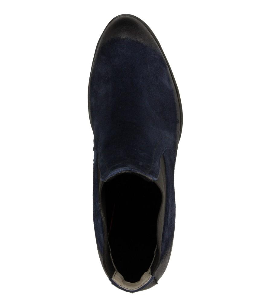 Damskie BOTKI LEMAR 901 niebieski;;