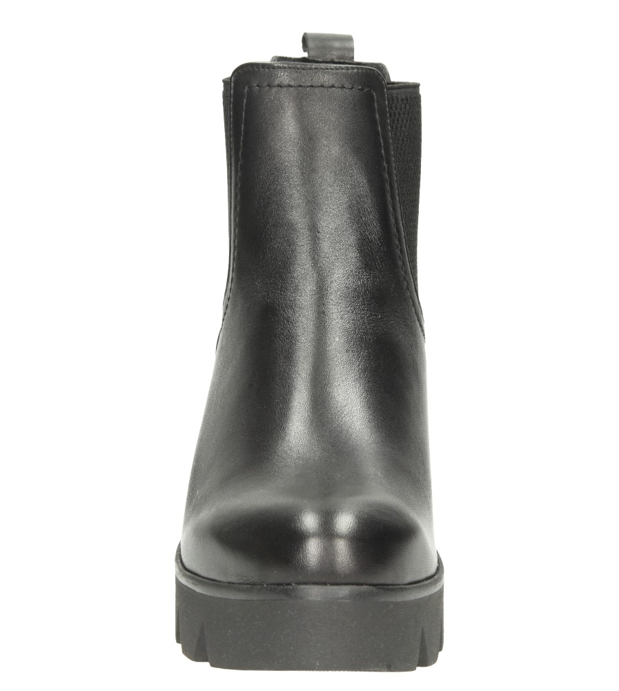 Damskie BOTKI LEMAR 861 czarny;;