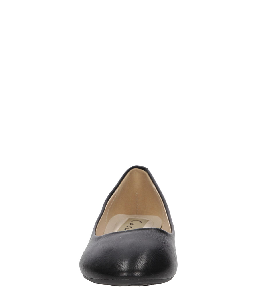 BALERINY CASU A925 kolor czarny