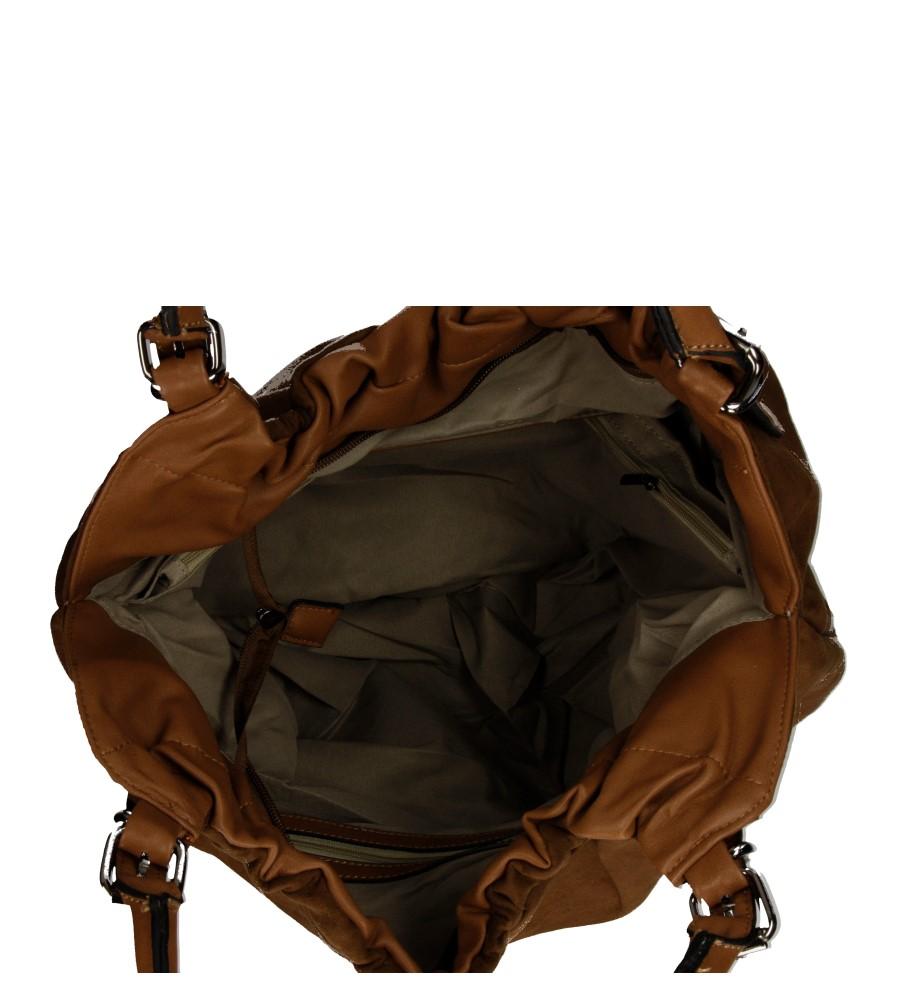 Damskie TOREBKA F53038 brązowy;;