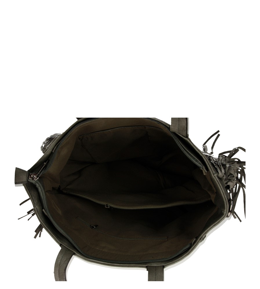 Damskie TOREBKA D23035 szary;;