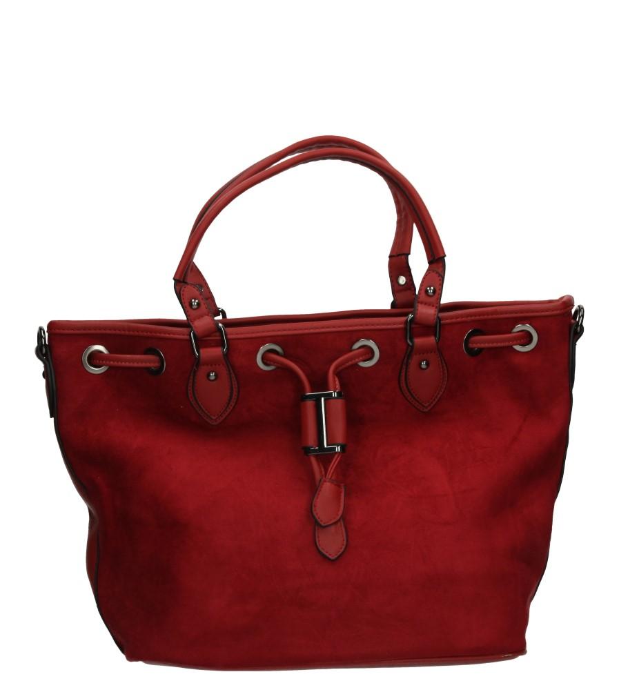 Damskie TOREBKA E2976 czerwony;;