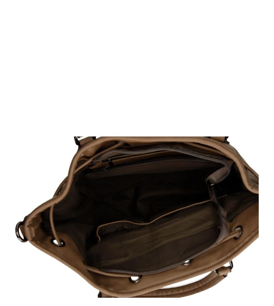 Damskie TOREBKA E2976 beżowy;;