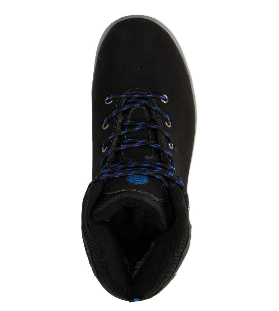 Męskie TRZEWIKI CASU MXC7024-W czarny;niebieski;