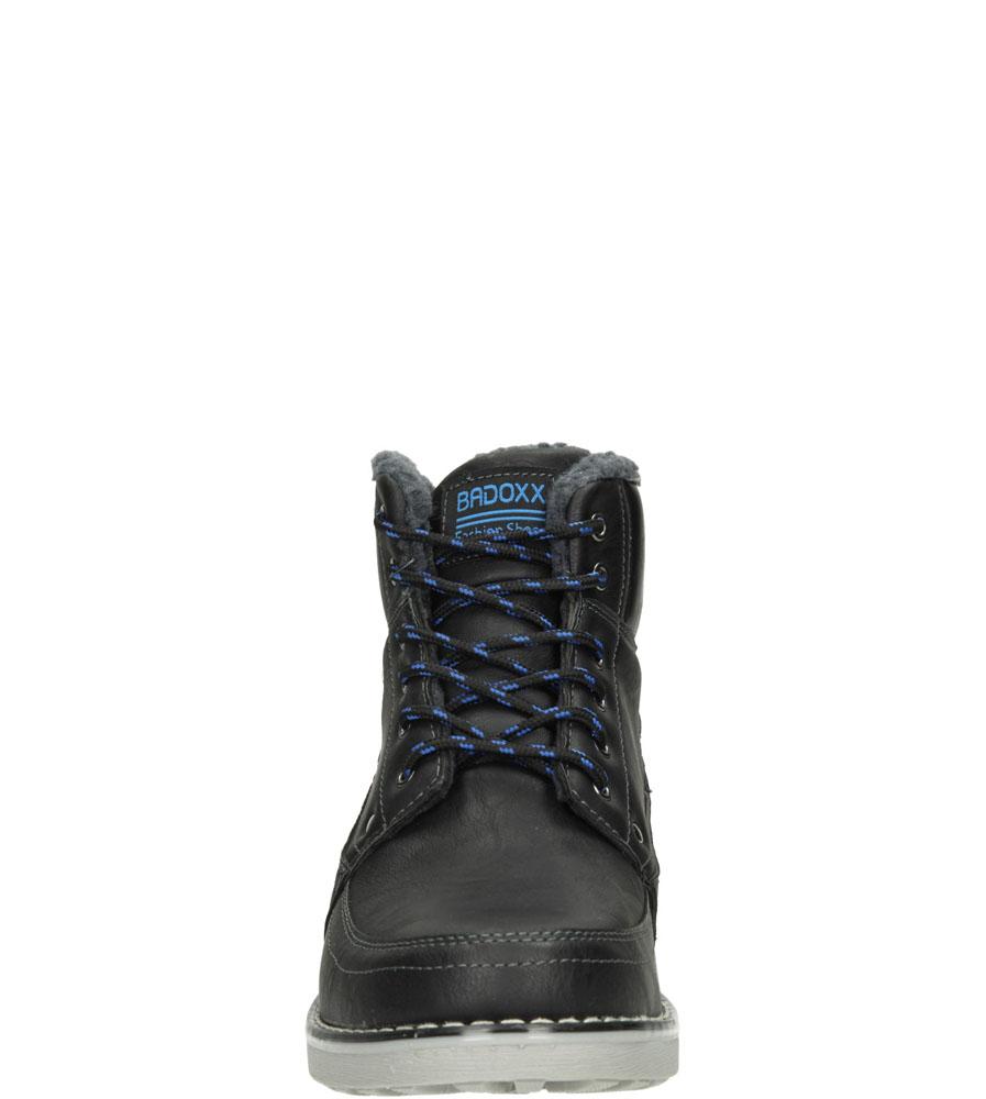Męskie TRZEWIKI CASU MXC7030-W czarny;niebieski;