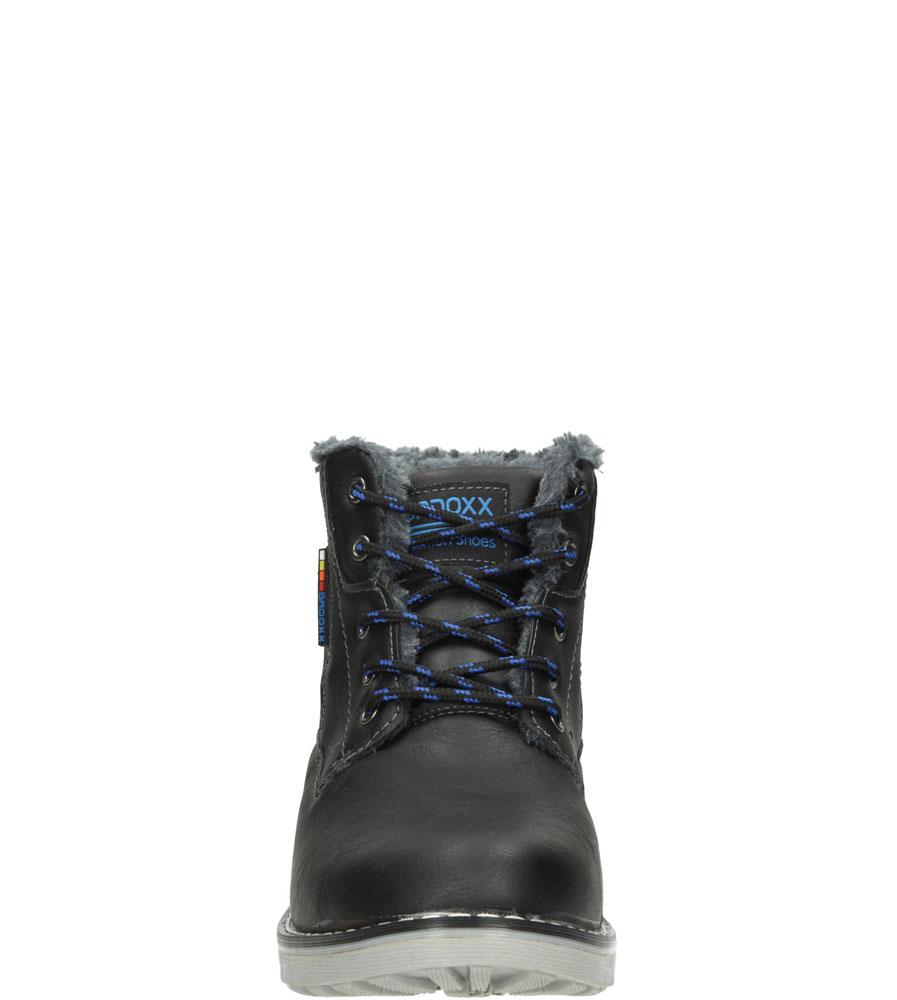 Męskie TRZEWIKI LXC6776-W czarny;niebieski;