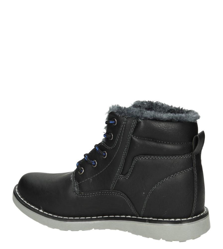 TRZEWIKI LXC6776-W kolor czarny, niebieski