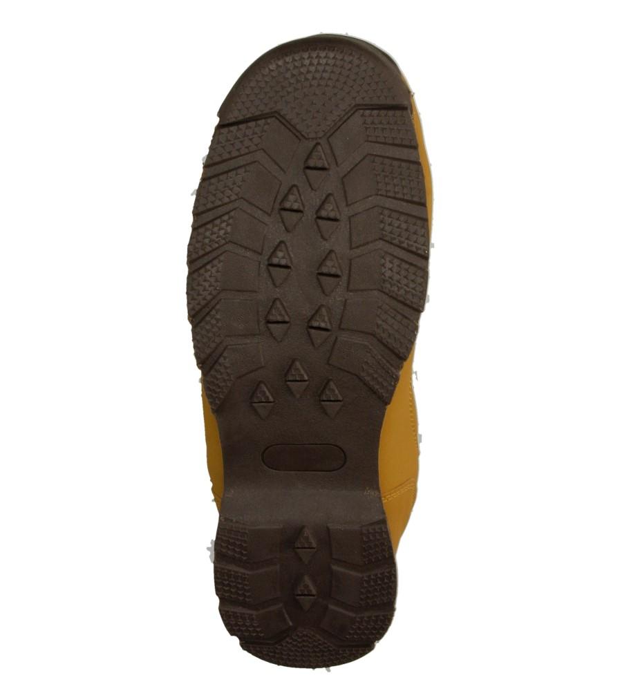 Męskie TREKKINGOWE CASU 9WCH-141188 brązowy;brązowy;