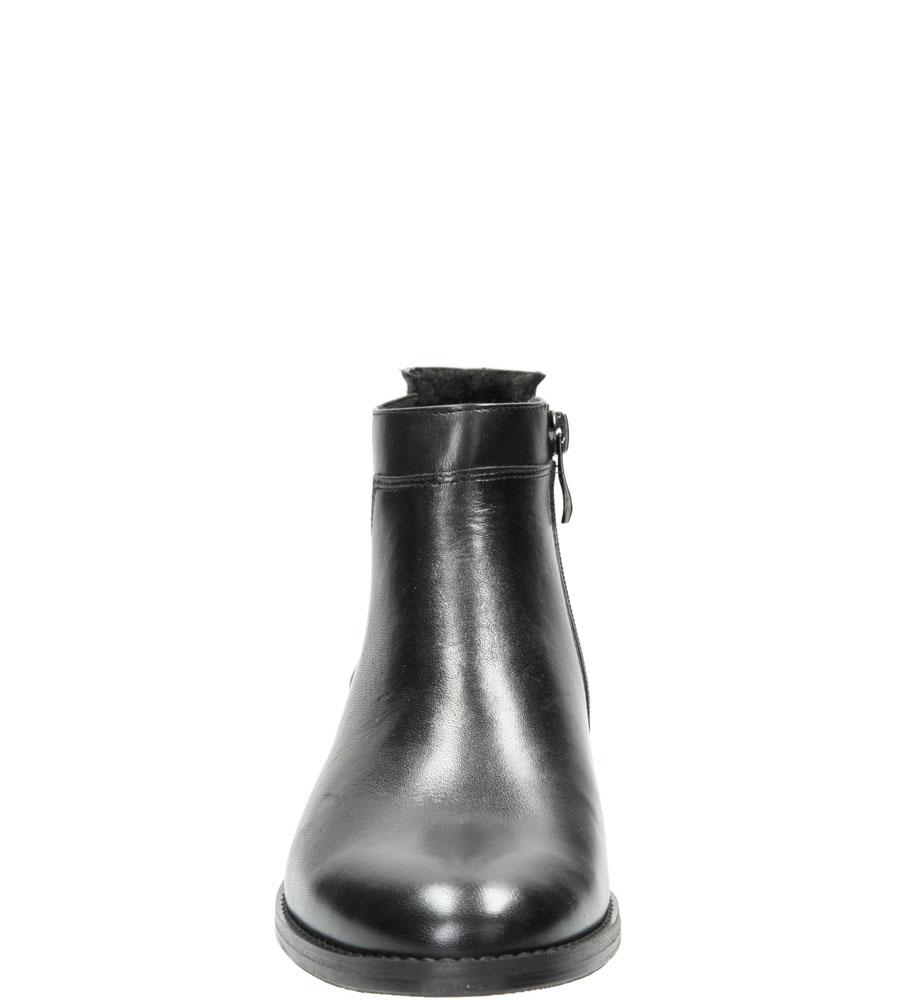 Damskie SZTYBLETY NESSI 742/0 czarny;;
