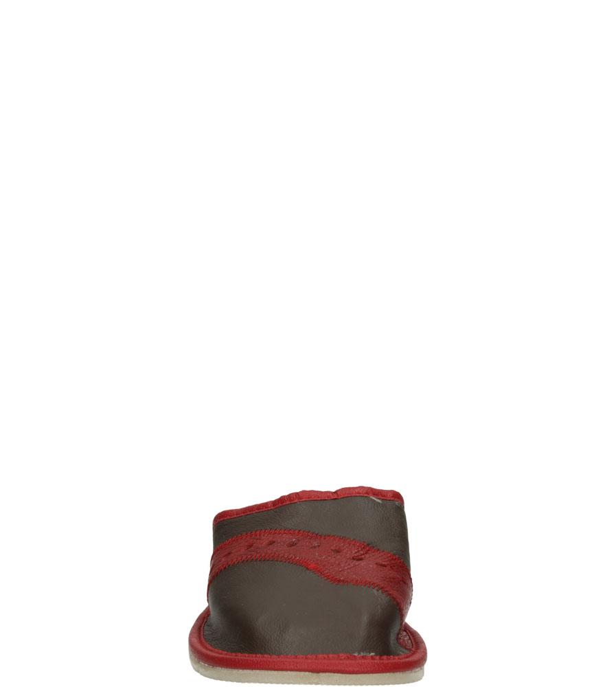 Damskie KAPCIE CASU D-28 brązowy;bordowy;