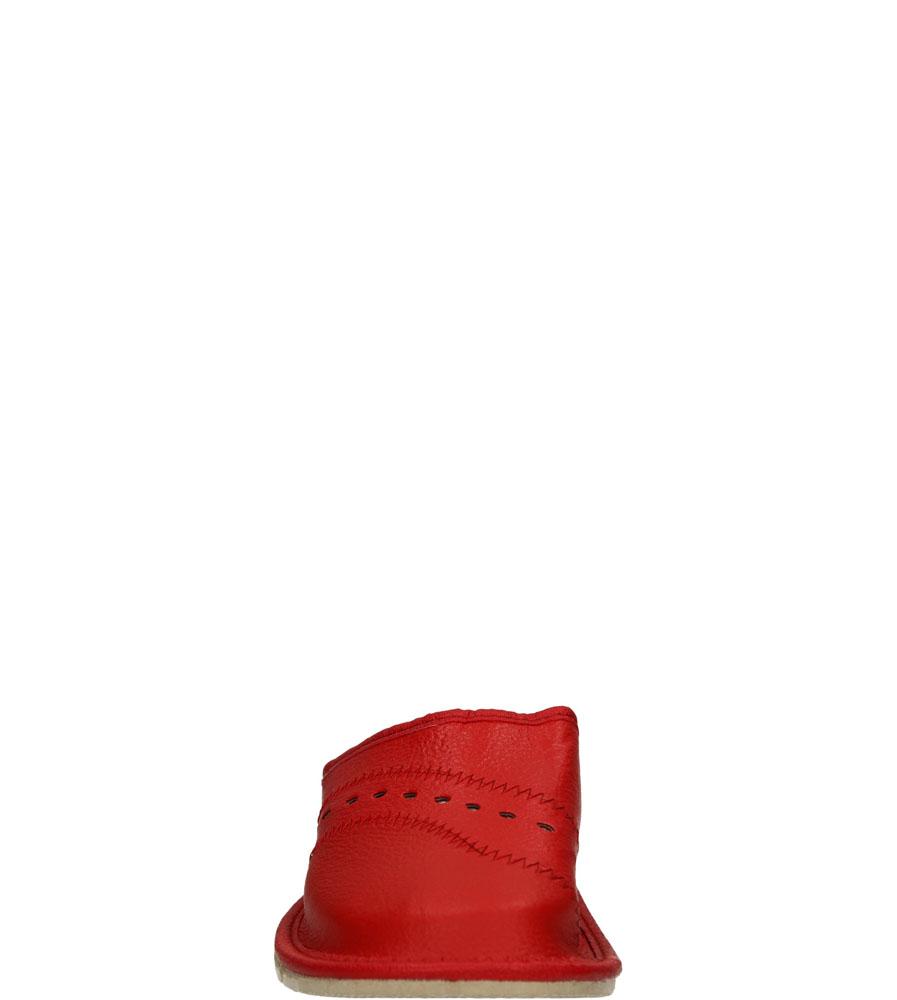 Damskie KAPCIE CASU D-28 czerwony;;