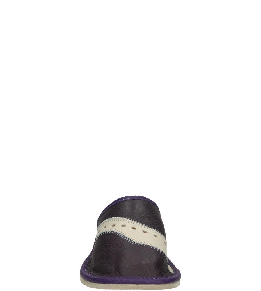 Damskie KAPCIE CASU D-28 fioletowy;beżowy;